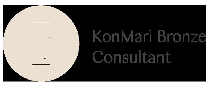 KonMari Bronze Consultant   Tidylicious   Experience the magic of tidying